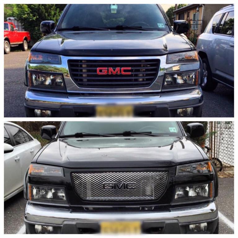 Custom Denali Grille Chevrolet Colorado Amp Gmc Canyon Forum