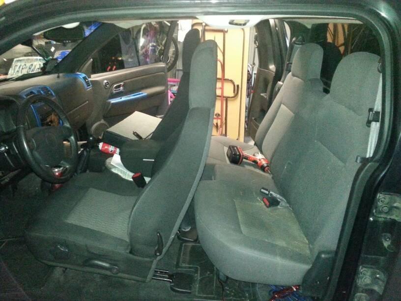 174badf3b1 Ext Cab Seats Options - Chevrolet Colorado   GMC Canyon Forum
