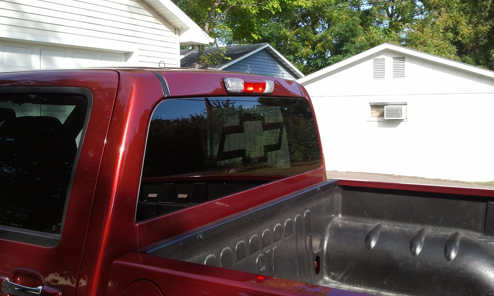 Chevy Bowtie Decal Chevrolet Colorado  GMC Canyon Forum - Chevy rear window decals trucks