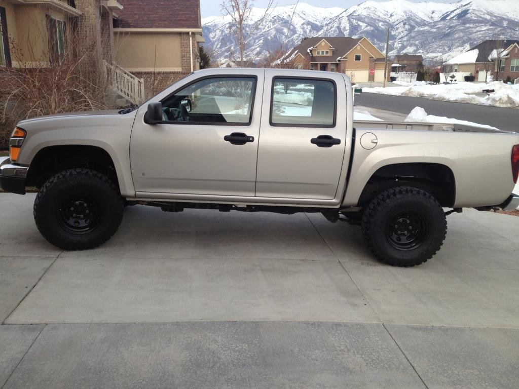 Colorado chevy colorado 2.5 lift : Will 1.5in body lift show frame horns without cutting? - Chevrolet ...