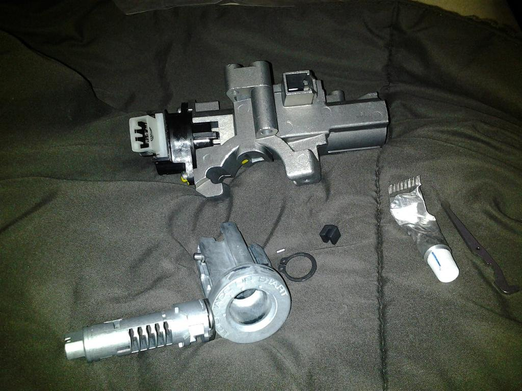 Ignition Cylinder And Housing Help Chevrolet Colorado