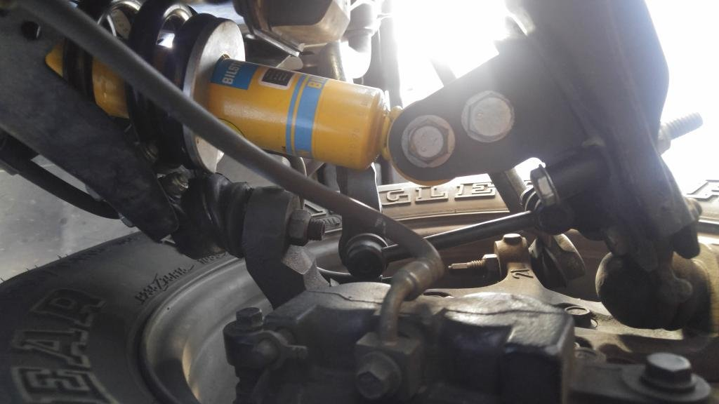 Clunk after lift (front end) - Chevrolet Colorado & GMC