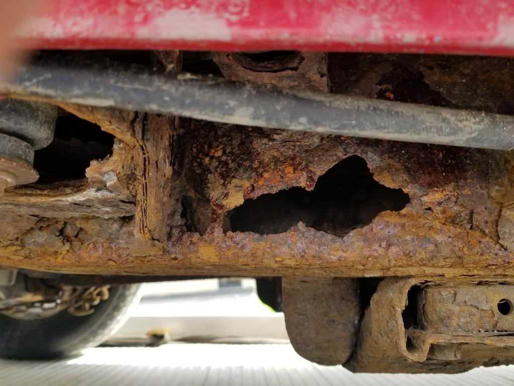 Frame rot - Chevrolet Colorado & GMC Canyon Forum