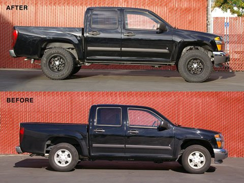 2wd lifted, pics. and info. - Page 21 - Chevrolet Colorado & GMC Canyon Forum