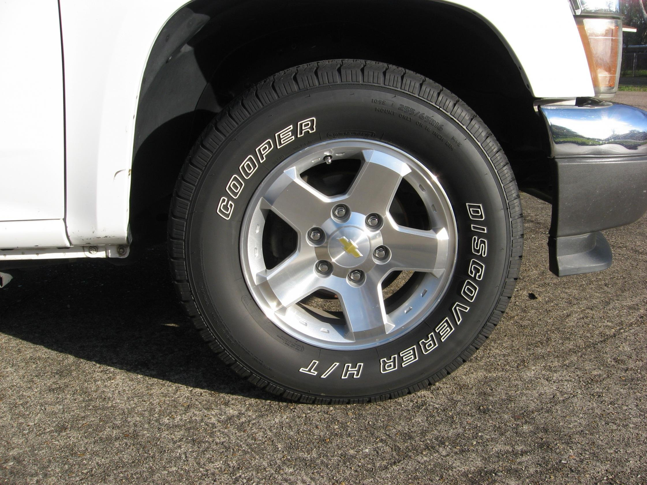 new tires again 255 65 16 chevrolet colorado gmc canyon forum. Black Bedroom Furniture Sets. Home Design Ideas