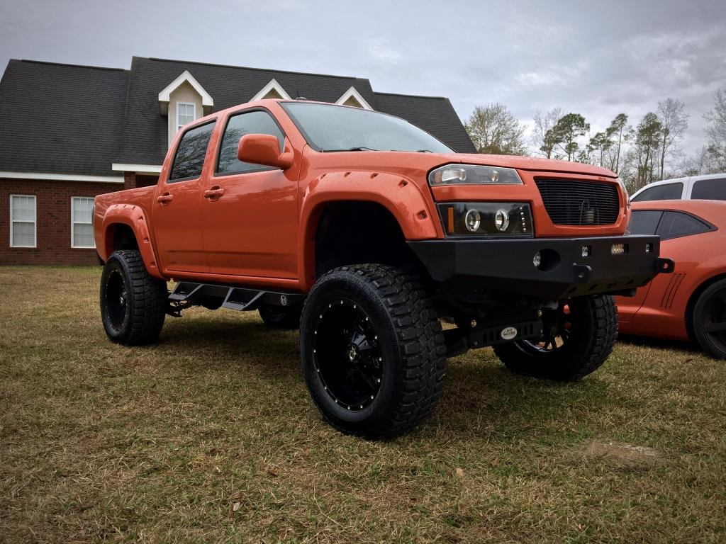 Chevy Colorado 9 Inch Lift On 35s Chevrolet Colorado Gmc Canyon Forum