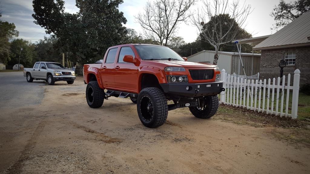 Lifted Chevy Colorado >> Chevy Colorado 9 Inch Lift On 35s Chevrolet Colorado Gmc Canyon