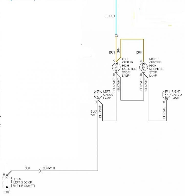brake light wiring diagram 3rd brake light questions chevrolet colorado   gmc canyon forum brake light wiring diagram mustang chevrolet colorado   gmc canyon