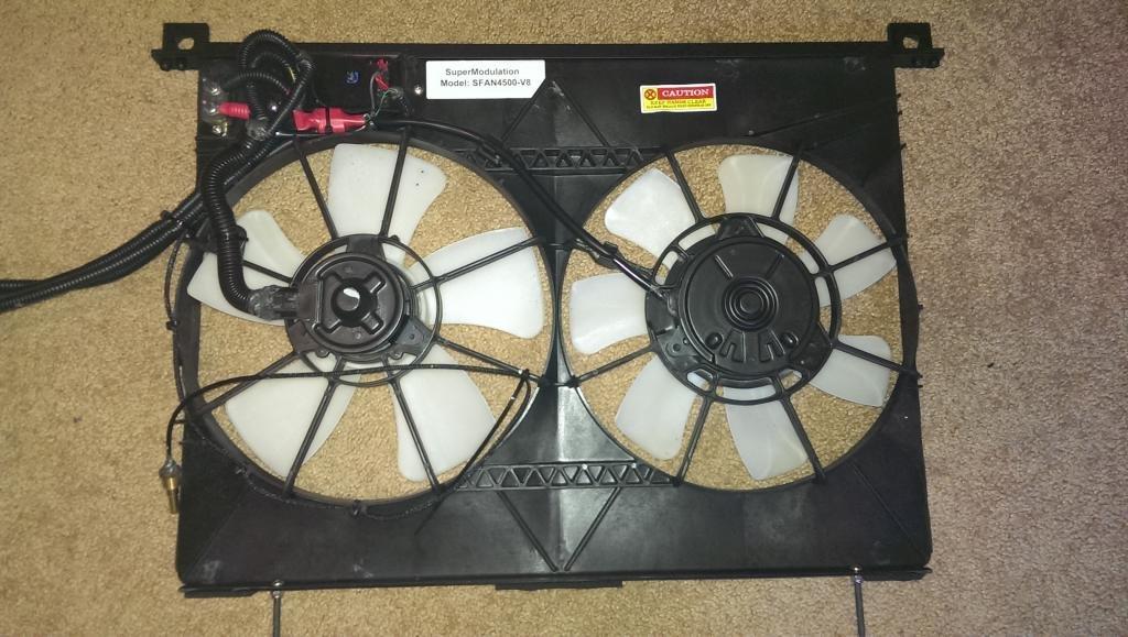 Supermodulation Efan Model Sfan4500 Electric Cooling Fan