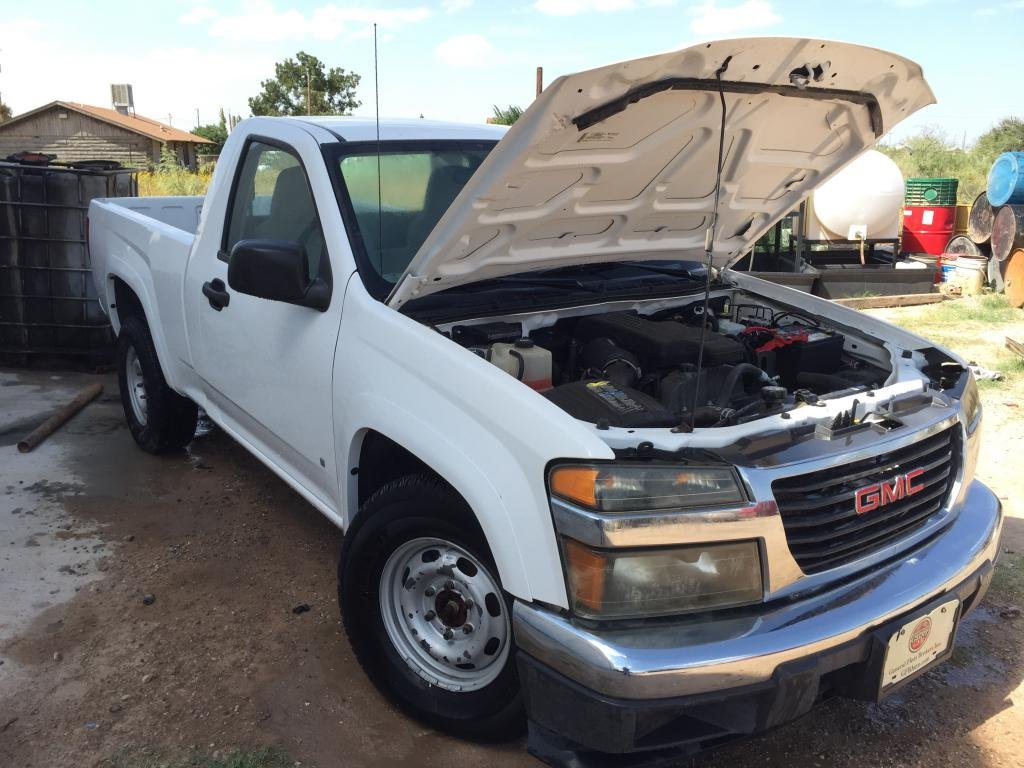 2008 gmc canyon 2 9l to v8 swap questions