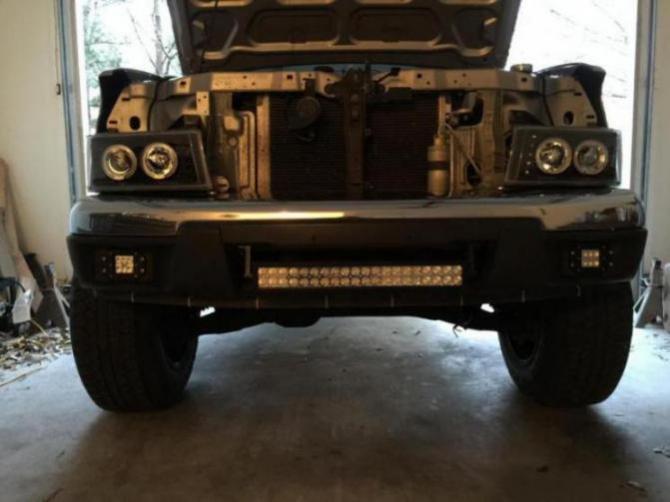 Lightbar placement - Chevrolet Colorado & GMC Canyon Forum