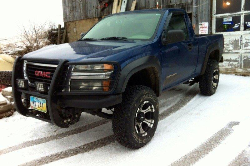 Lifted Gmc Canyon >> Lifted Regular Cab. - Chevrolet Colorado & GMC Canyon Forum