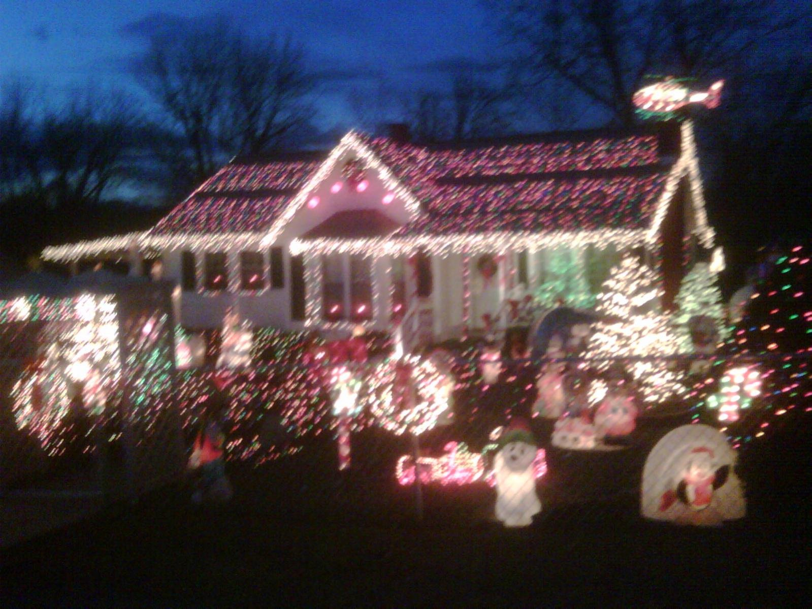 Mcadenville Christmas Lights.Christmas Lights Mcadenville Nc No 56k Chevrolet