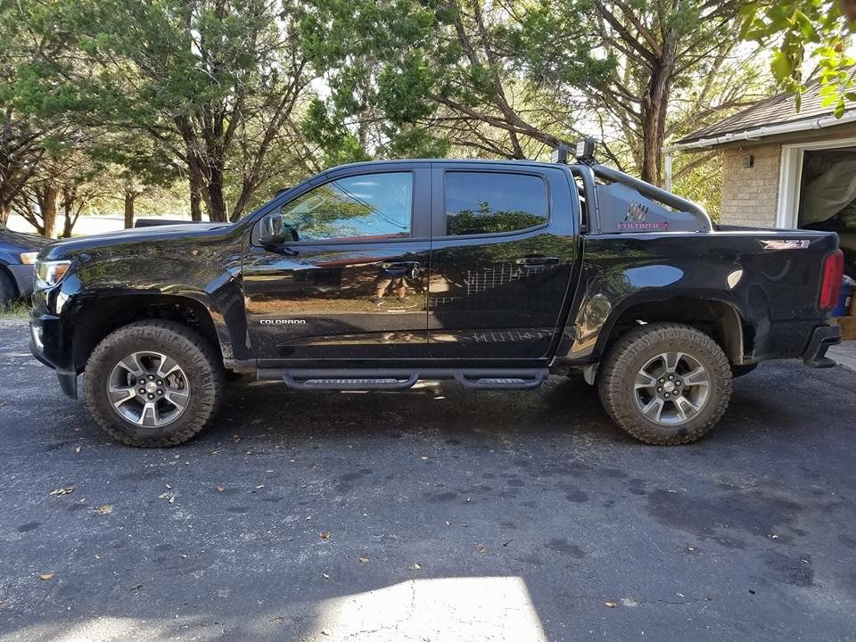 rough country 1 2 4 5 6 lift kits chevrolet colorado gmc canyon forum. Black Bedroom Furniture Sets. Home Design Ideas