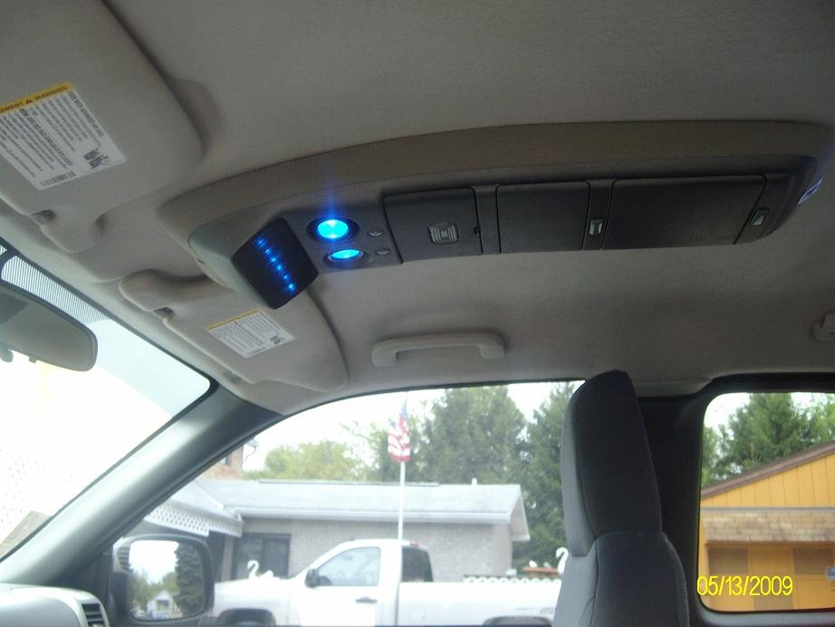 Overhead Console And Dome Light Relocate Chevrolet