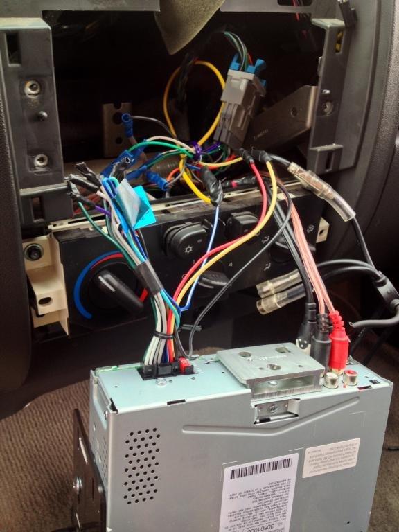 Amp for door speakers
