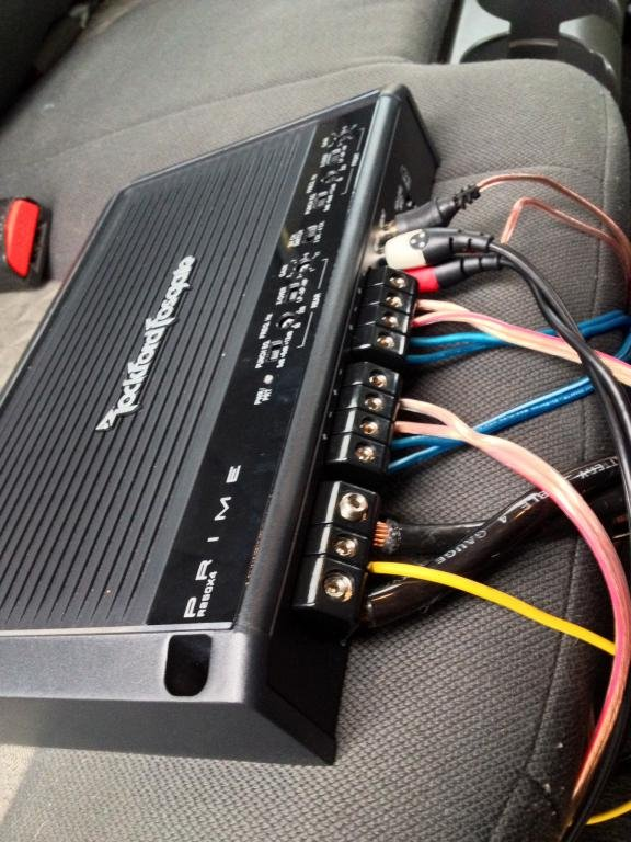 wiring door speakers to 4 channel amp - rockford fogsgate ... to amp wiring door speakers