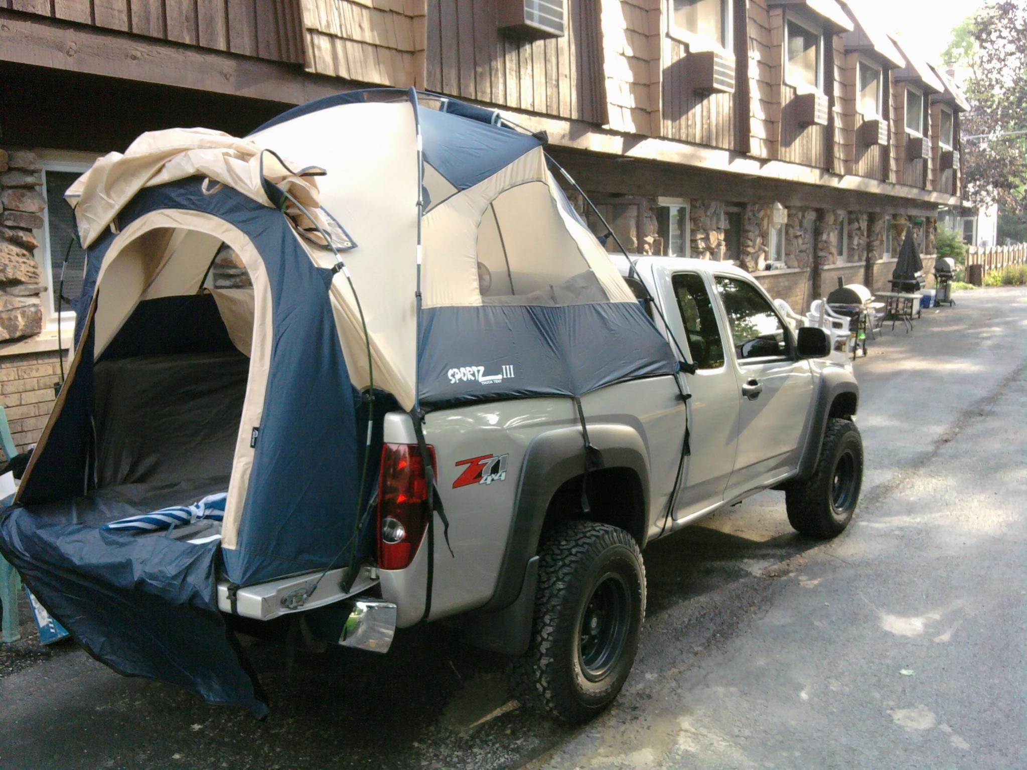 Colorado With Truck Tent Pics Chevrolet Colorado Amp Gmc