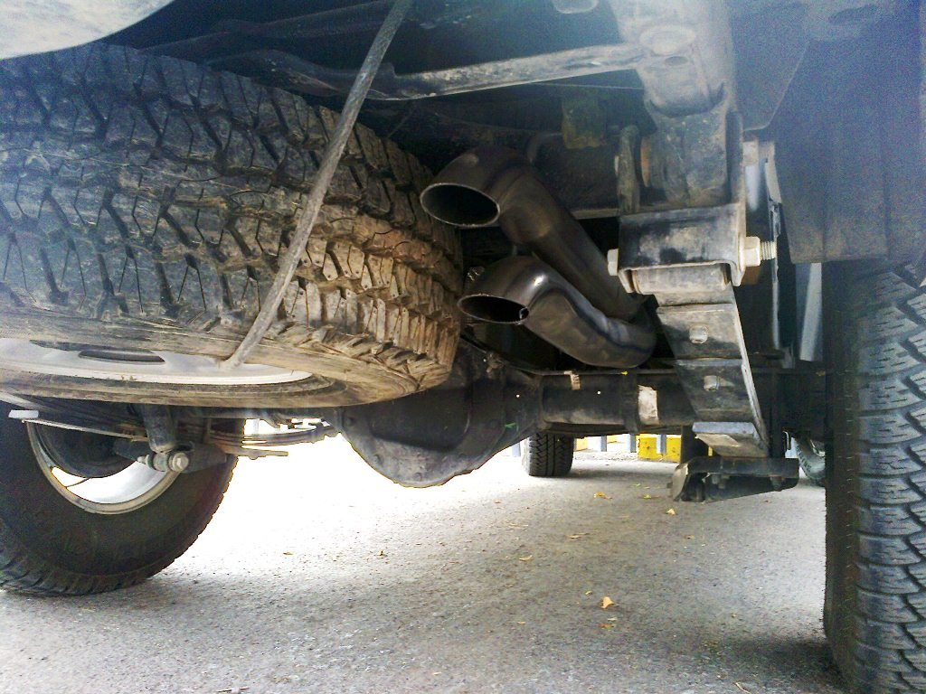 Canyon Vs Colorado >> Dual turn down exhaust vs single turn down exhaust - Page ...