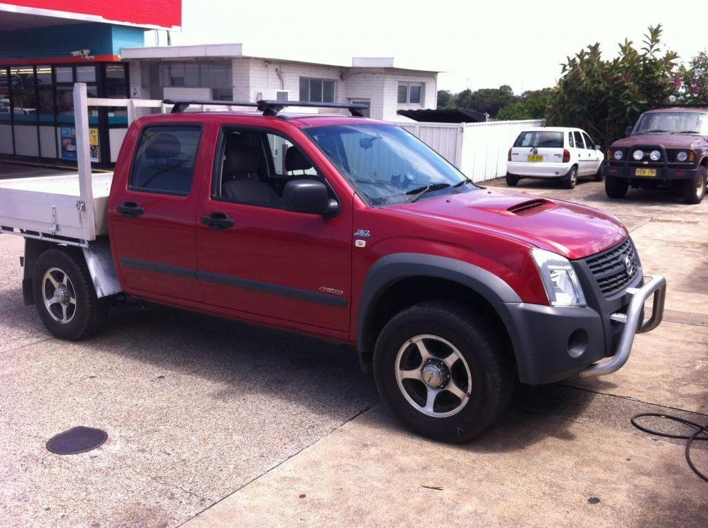 09 L98 To 07 Holden Rodeo Colorado Chevrolet Colorado