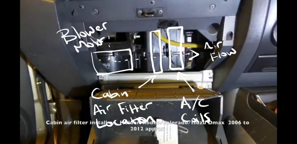 Premium Air Filter for Chevrolet Colorado 2008-2012 w// 3.7L Engine