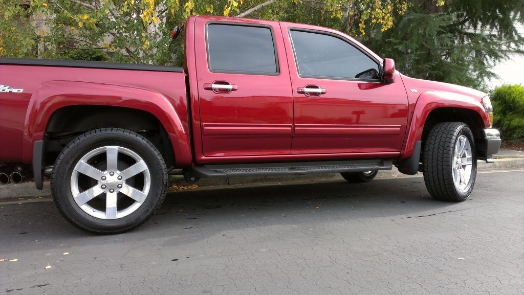 20in Ss Trailblazer Wheels Mounted Chevrolet Colorado