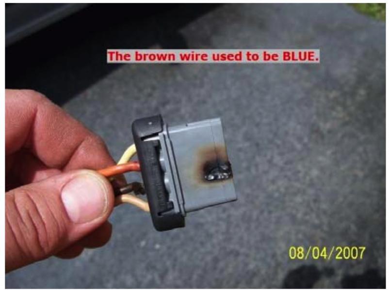 Th gen lt f tech aids gm repment wiring harness connectors for Hvac fan motor replacement