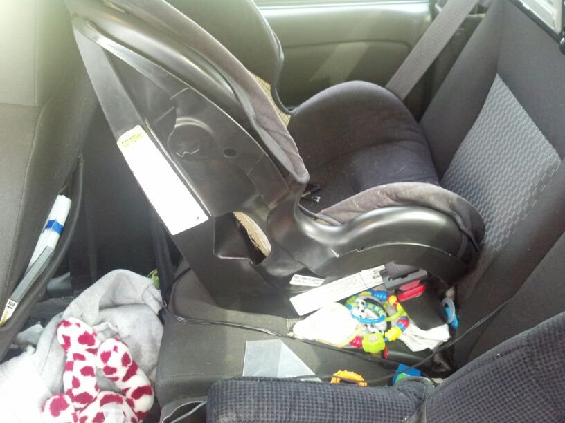 How Old Child Car Seat