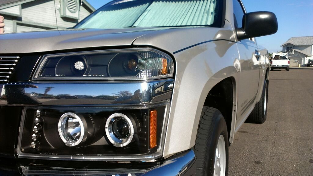 How To Install Projector Headlights W Halo S Or Led Uploadfromtaptalk1359509190404