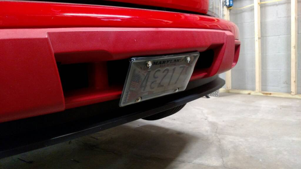 Front License Plate Bracket for Xtreme..... - Chevrolet Colorado ...