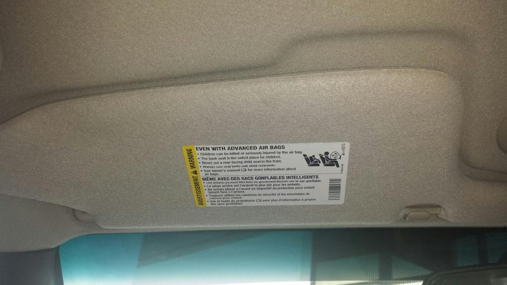 How-To  Remove the Airbag Sticker from the Sun Visors - Chevrolet ... a8cfb7ea645