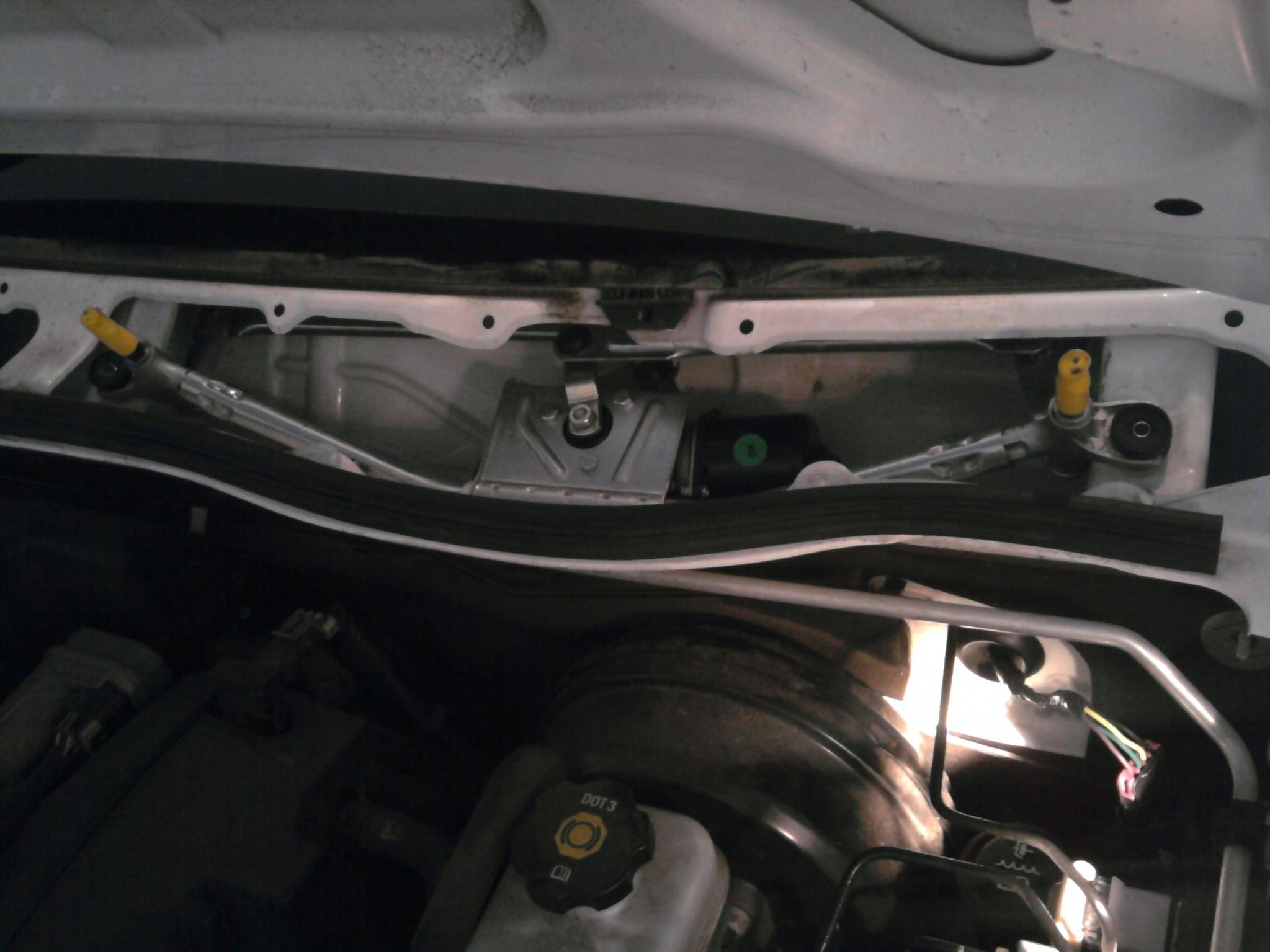 Installed New Wiper Motor And Linkage Chevrolet Colorado Gmc Canyon Forum