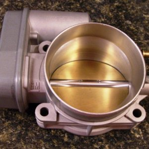 Handgunner Ported and Polished Throttle Body.