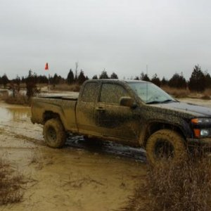 mudding at st.joes state park january 2010