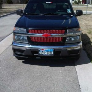 Feb 13 2010. The day i put the emblem back on and my grill after I painted them.