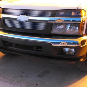 colorado z71 billet grill w/ white decal 3
