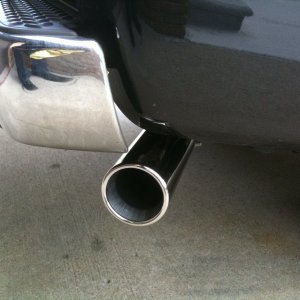 New Stainless tip for exhaust