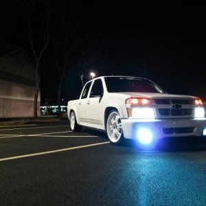 8000k Hid with the halos on , Headlights not on...