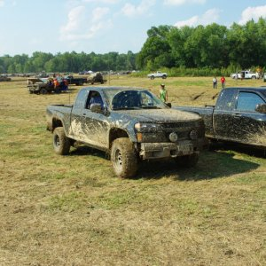 buchanans mud fest 2010.. i was by far the dirtiest colorado out there.